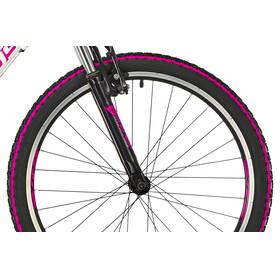 """Serious Rockville Juniorcykel Barn 24"""" pink/vit"""